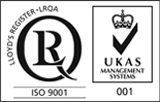 ISO9001 and UKAS - Small